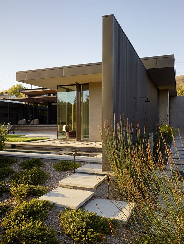 Mill Valley Courtyard House by Aidlin Darling Design (13)