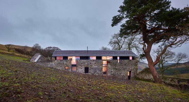 Old mill transformed into a modern holiday home (1)