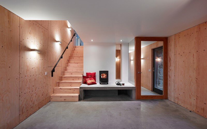 Old mill transformed into a modern holiday home (8)