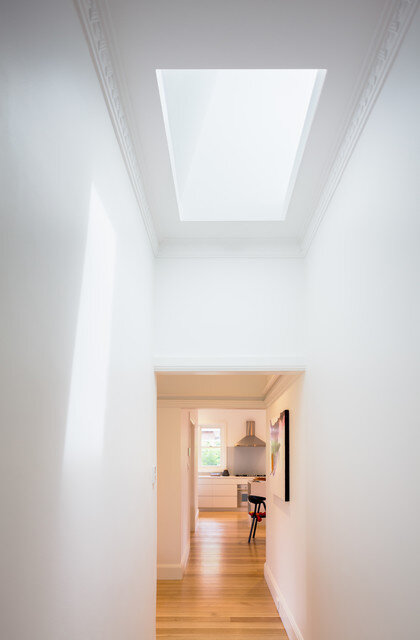 Red brick house - extended and transformed by Bijl Architecture (4)