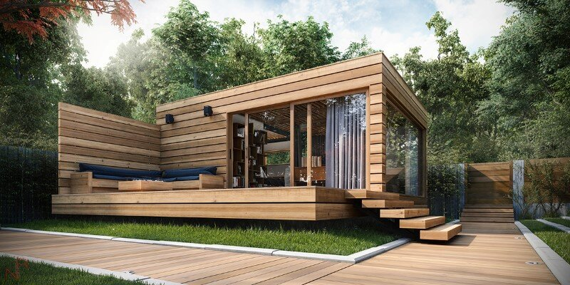 Romas Noreika's personal project for a summer house (1)