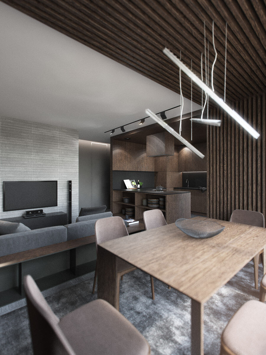 Steak-house - interior design project completed by Minsk-based Nordes Design Group (12)