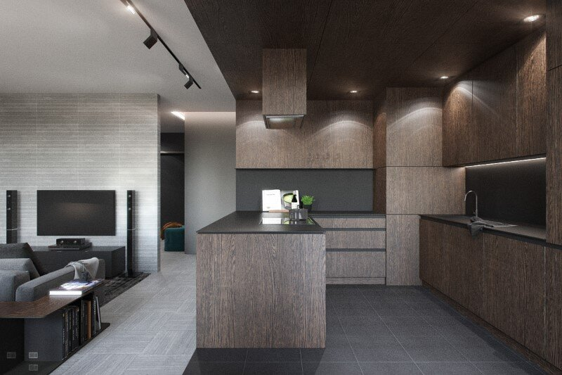 Steak-house - interior design project completed by Minsk-based Nordes Design Group (7)