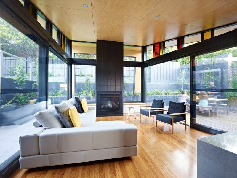 Suburban house extension with environmentally sustainable design (8)
