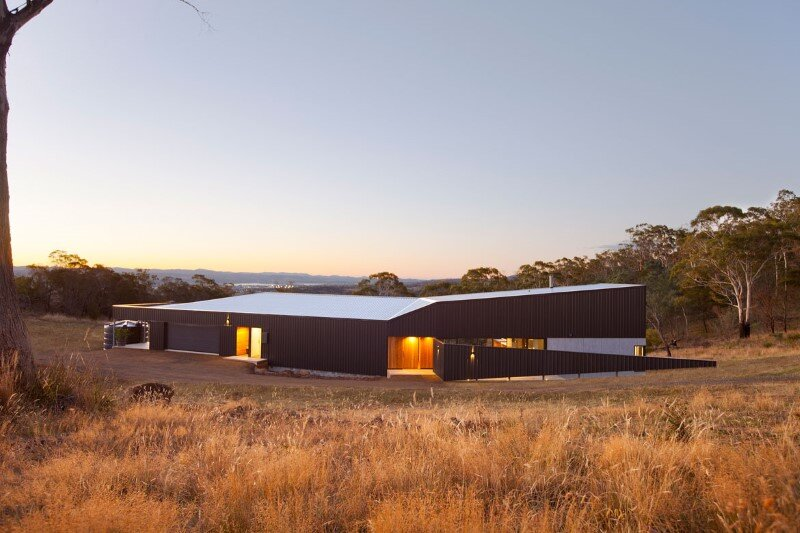 Valley Residence - shaped and adapted to the contours of a valley - Philip M. Dingemanse (11)
