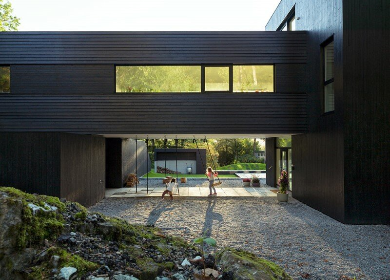 Contemporary Villa by Saunders Architecture, in Bergen, Norway (3)