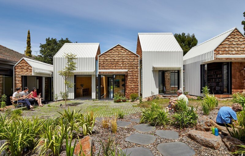 Weatherboard house - creative extension and renovation for a long-term family home (1)