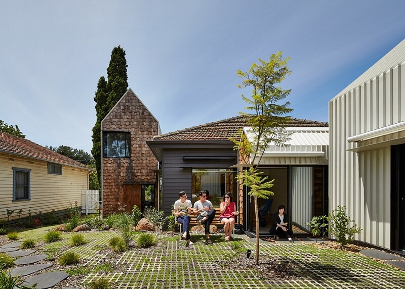 Weatherboard house - creative extension and renovation for a long-term family home (12)