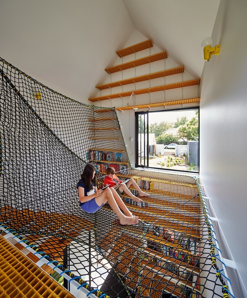Weatherboard house - creative extension and renovation for a long-term family home (14)