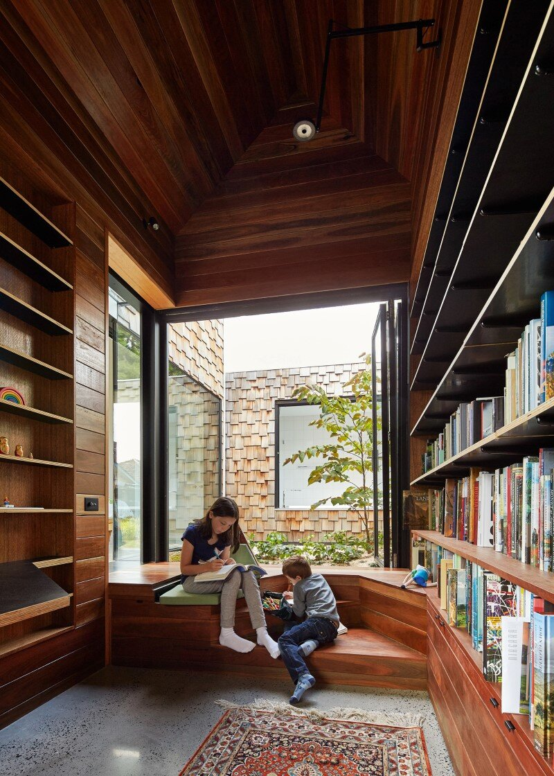 Weatherboard house - creative extension and renovation for a long-term family home (22)