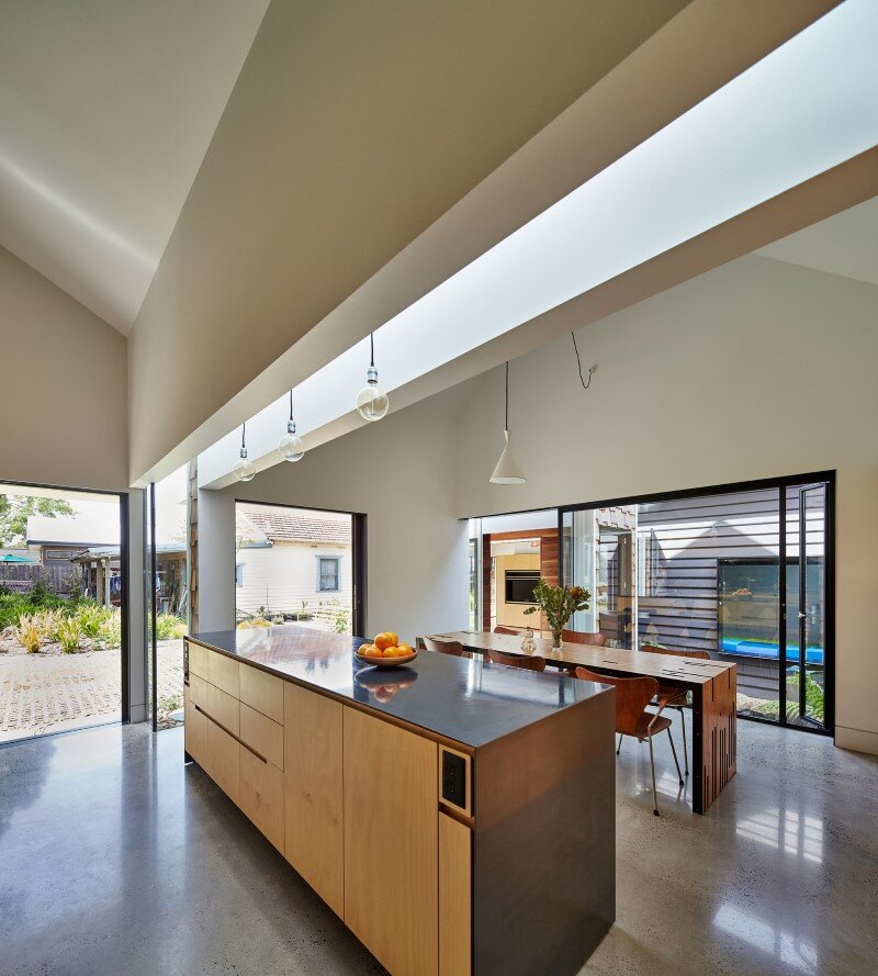 Weatherboard house - creative extension and renovation for a long-term family home (5)
