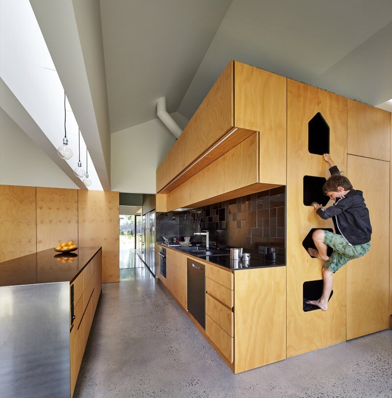 Weatherboard house - creative extension and renovation for a long-term family home (6)