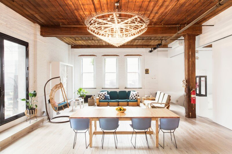 Williamsburg loft - industrial space turned into a comfortable home and work space (1)