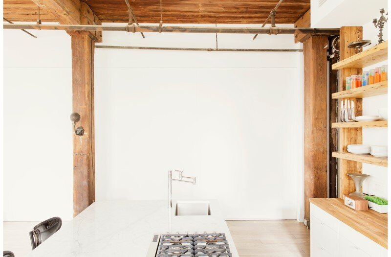 Williamsburg loft - industrial space turned into a comfortable home and work space (5)