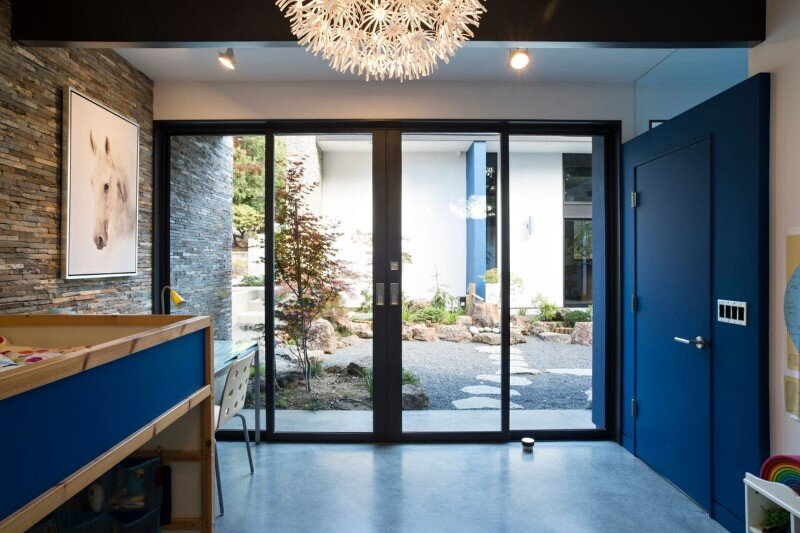Atrium House - energy efficient new home by Klopf Architecture (17)