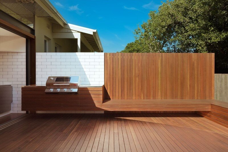 Bold conceptual approach for adding a open kitchen to a semi-detached home - Dulwich Hill Residence (13)