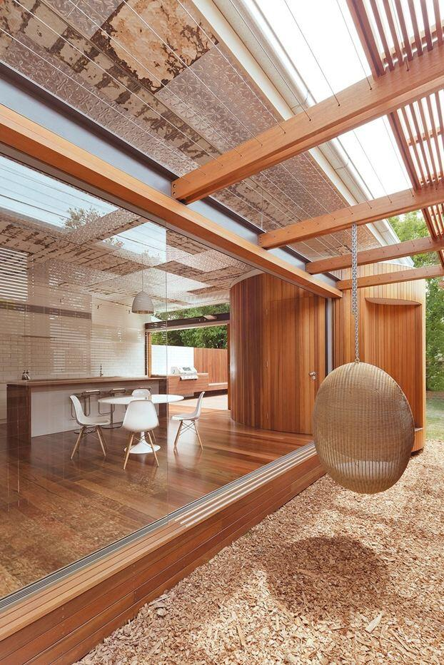 Bold conceptual approach for adding a open kitchen to a semi-detached home - Dulwich Hill Residence (7)