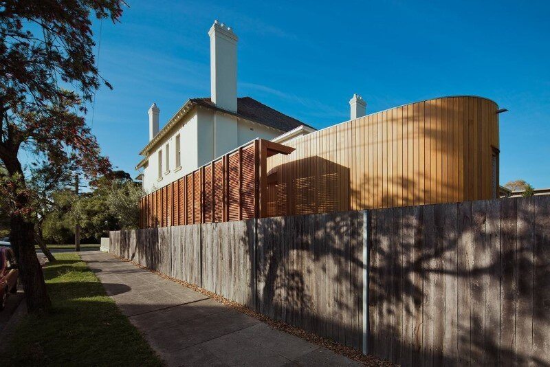 Bold conceptual approach for adding a open kitchen to a semi-detached home - Dulwich Hill Residence (8)