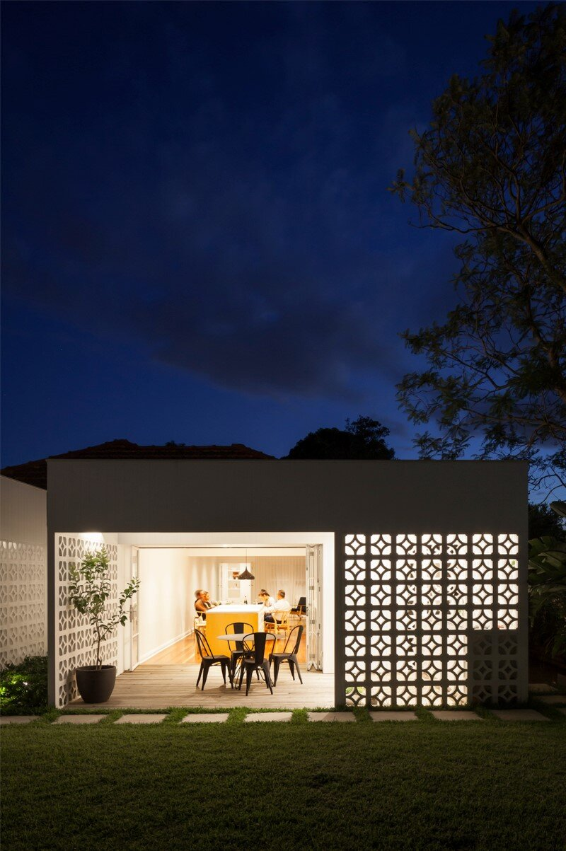 Breeze Block Home was reorganized to create a more contemporary open plan (9)