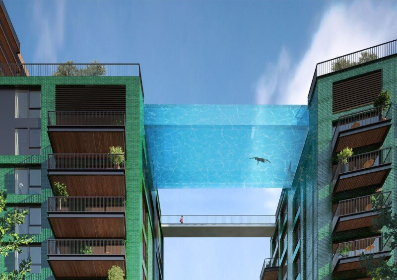Embassy Gardens Sky Pool - Suspended Glass Swimming Pool (2)