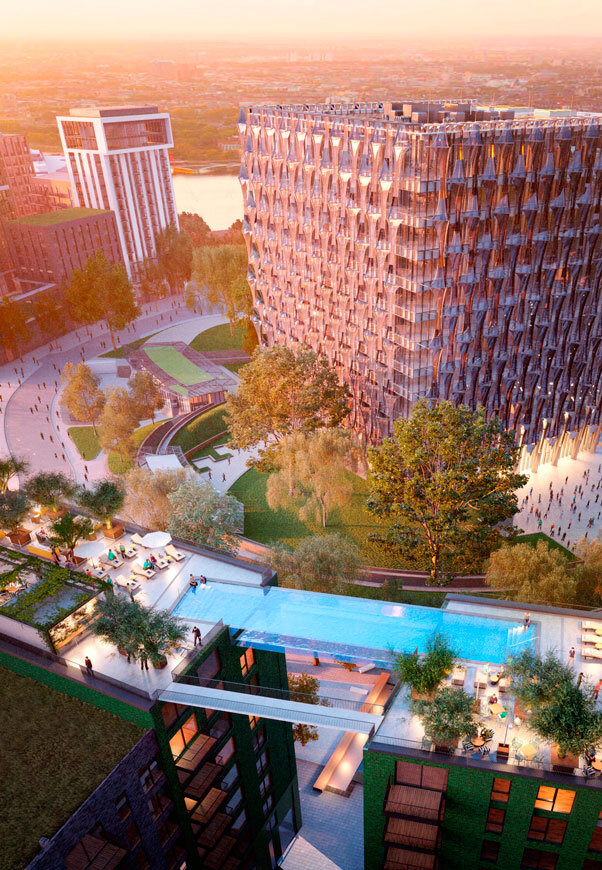 Embassy Gardens Sky Pool - Suspended Glass Swimming Pool (5)