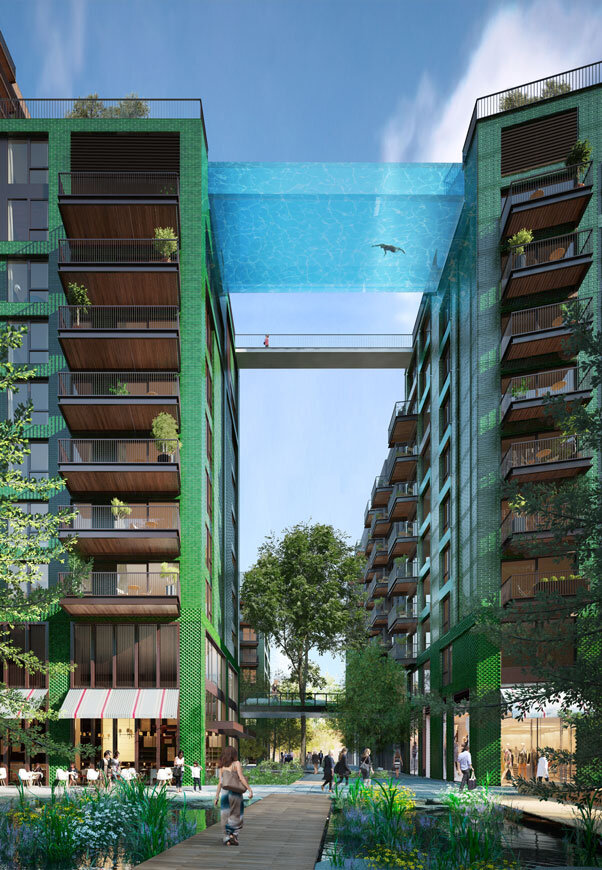Embassy Gardens Sky Pool - Suspended Glass Swimming Pool (6)