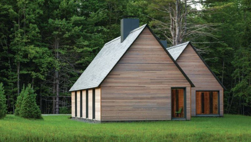 Five wooden cottages for Marlboro Music Festival (2)