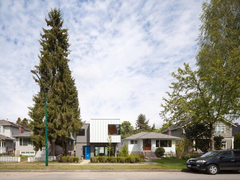 Grade House in East Vancouver by Measured Architecture 12