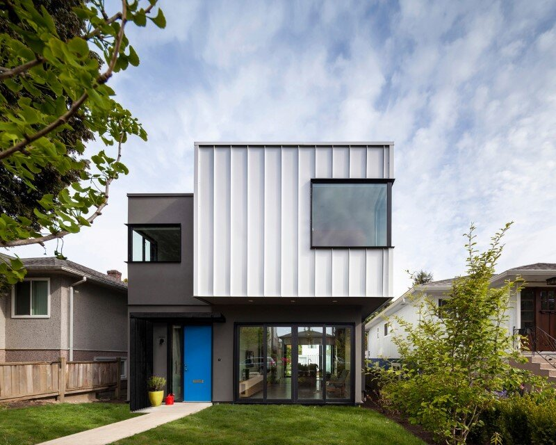 Grade House in East Vancouver by Measured Architecture 1
