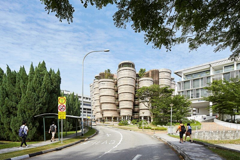 Learning Hub designed by Heatherwick Studio for a university in Singapore (1)