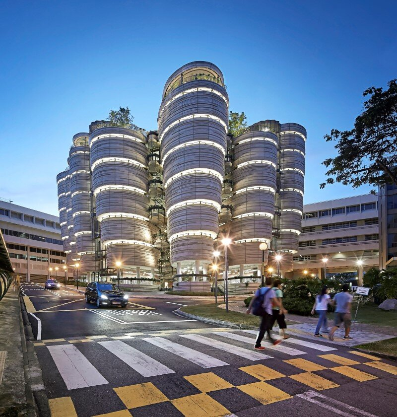 Learning Hub designed by Heatherwick Studio for a university in Singapore (13)