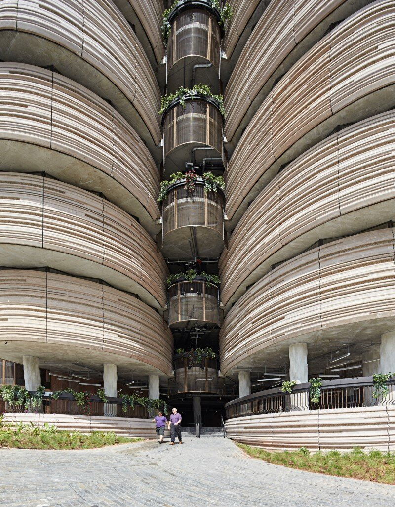 Learning Hub designed by Heatherwick Studio for a university in Singapore (3)
