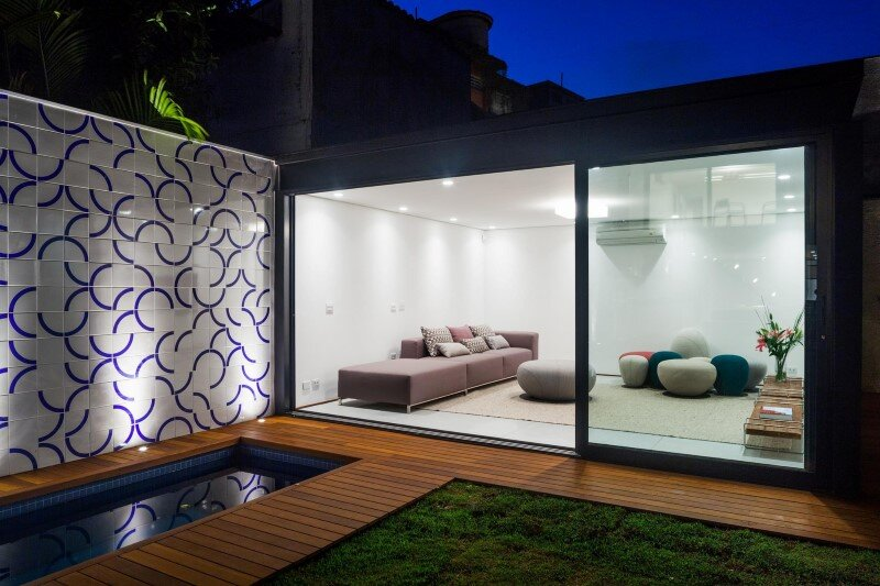 Leisure house with a large multiuse space - CR2 Arquitetura (11)