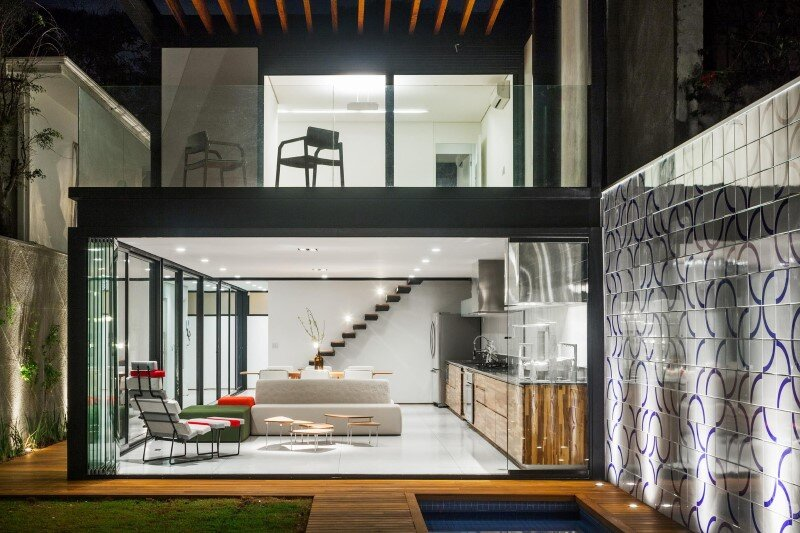 Leisure house with a large multiuse space - CR2 Arquitetura (14)