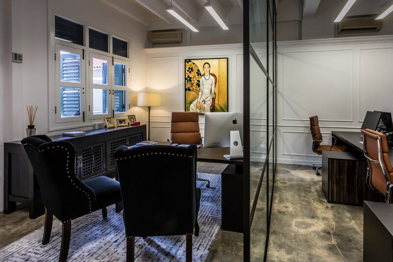 Luxury Hedge Fund office space in Singapore by Elliot James (2)