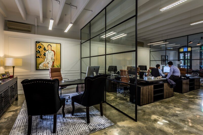 Luxury Hedge Fund office space in Singapore by Elliot James (3)