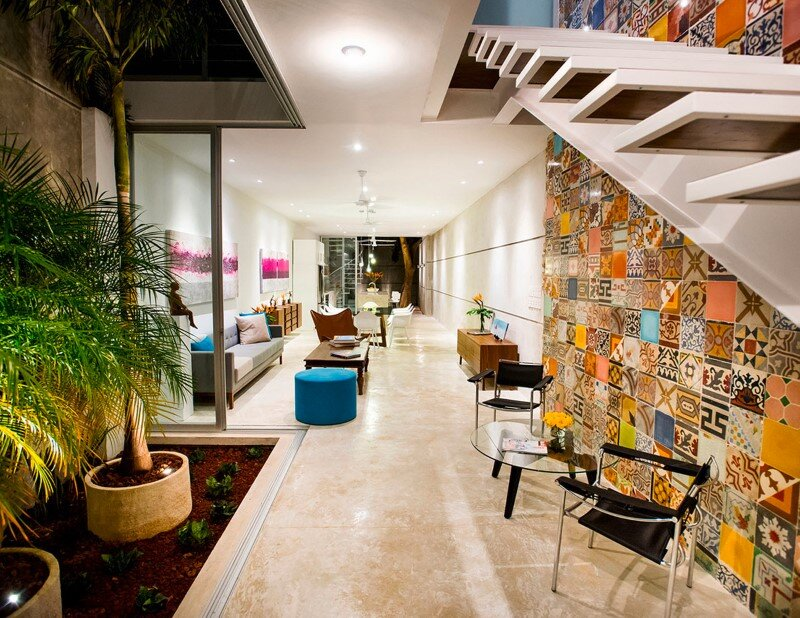 Merida House combines traditional Mexican elements with contemporary design (1)