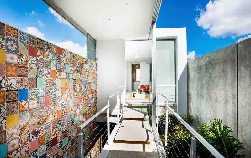 Merida House combines traditional Mexican elements with contemporary design (10)