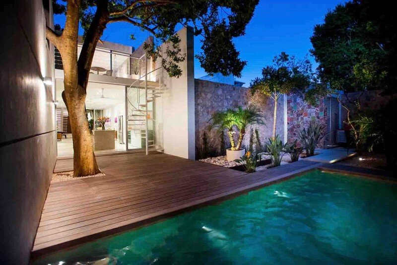 Merida House combines traditional Mexican elements with contemporary design (9)