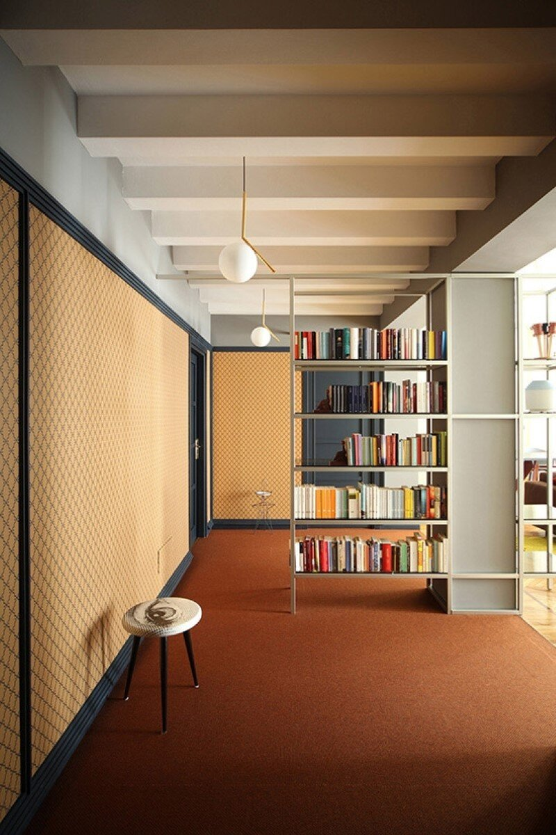 Metaphysical remix - renovation of apartment in Turin (1)