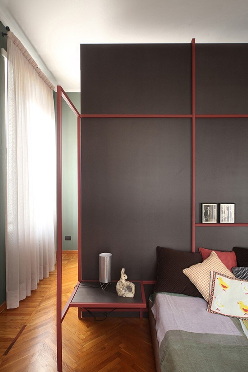 Metaphysical remix - renovation of apartment in Turin (11)
