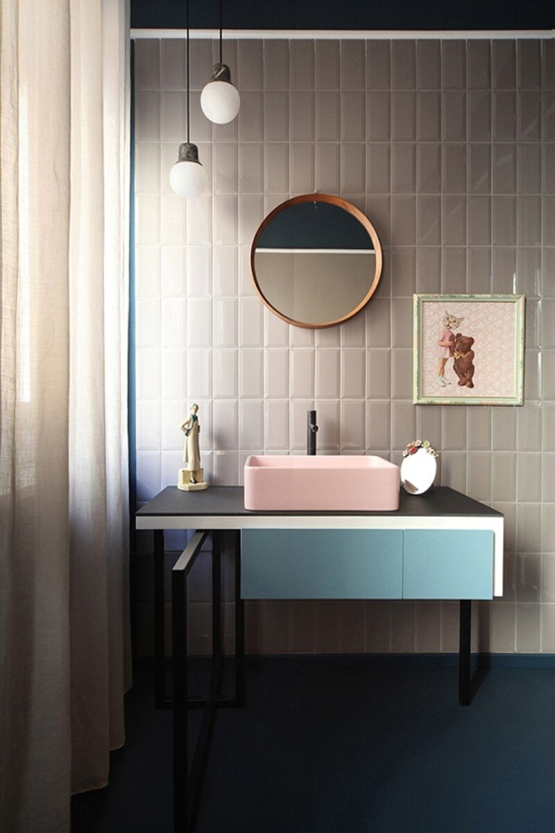 Metaphysical remix - renovation of apartment in Turin (12)