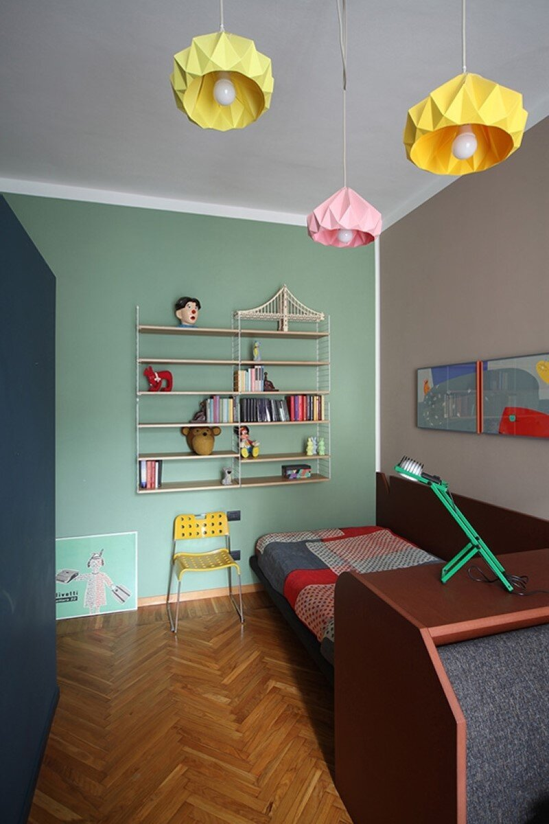 Metaphysical remix - renovation of apartment in Turin (13)