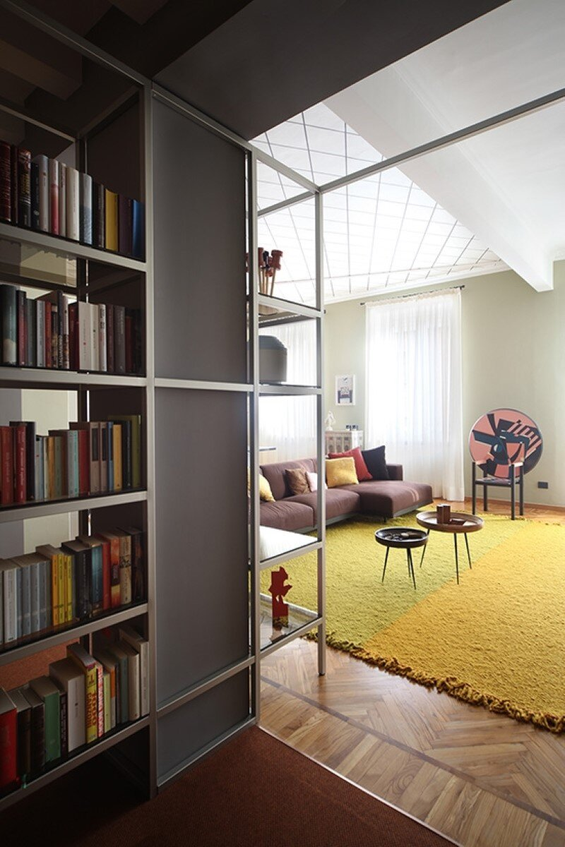 Metaphysical remix - renovation of apartment in Turin (3)