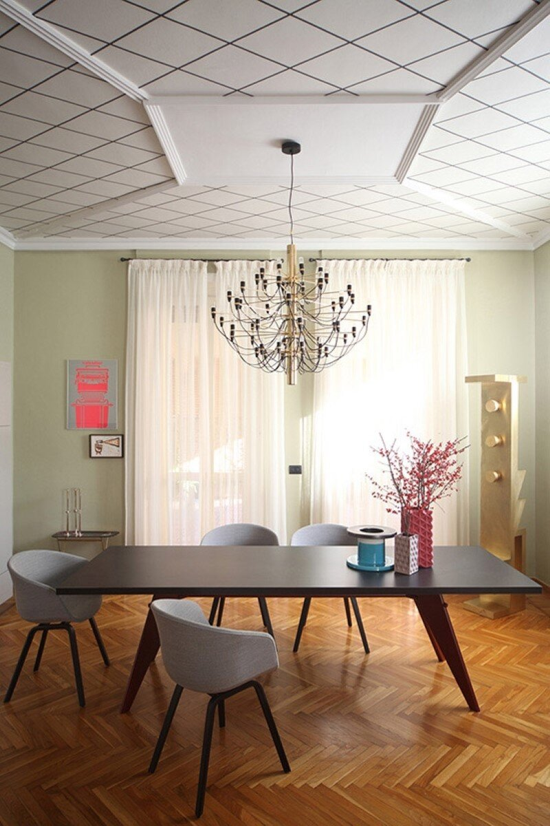 Metaphysical remix - renovation of apartment in Turin (4)