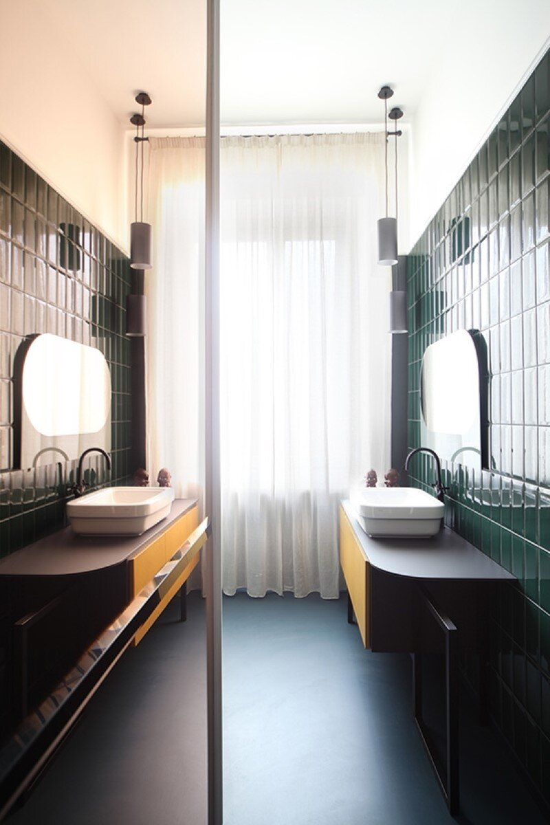 Metaphysical remix - renovation of apartment in Turin (8)