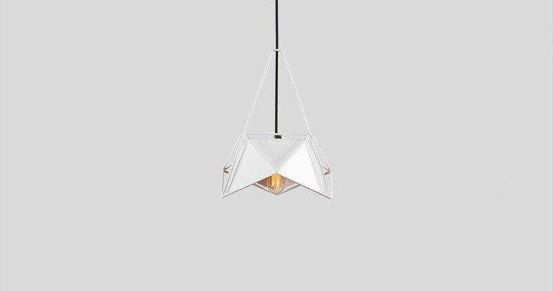Contemporary lightings made entirely of metal - U32 by Shift Studio (2)