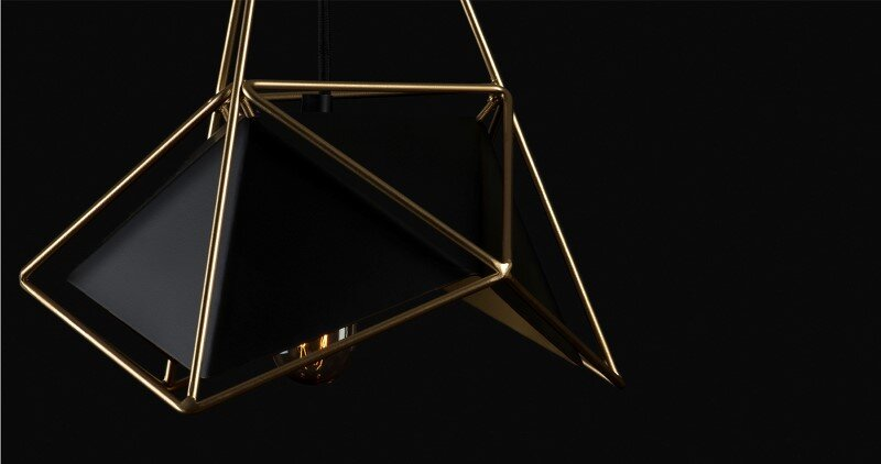 Contemporary lightings made entirely of metal - U32 by Shift Studio (5)