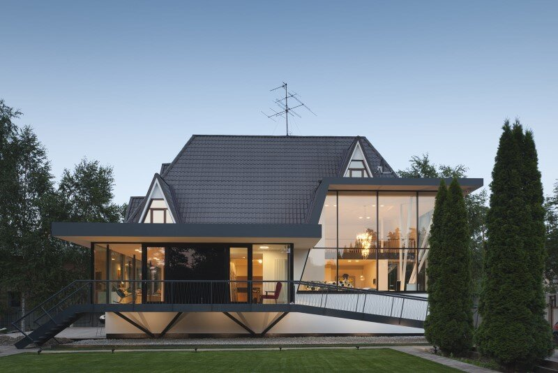 Modernization of a family house House N in Moscow (1)