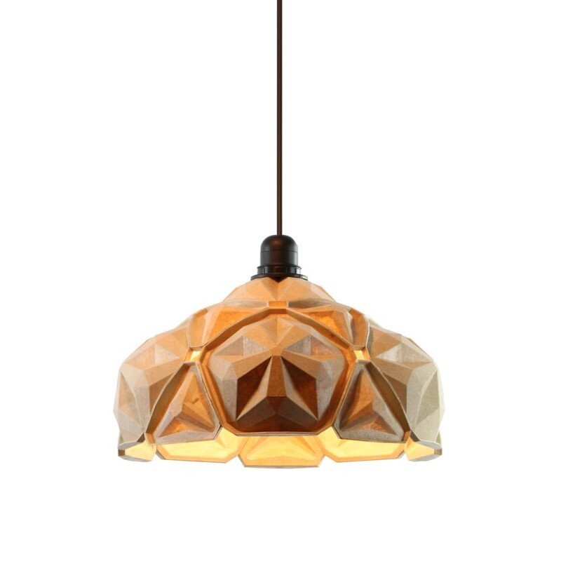 Penta Lamp Collection - aesthetics and sustainability through recycling of cassava waste (4)
